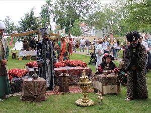 Almanya'da 'Osmanlı Saltanat Çadırı' kuruldu