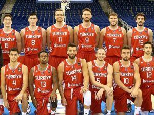 A Milli Erkek Basketbol Takımı hazırlıklara başlıyor