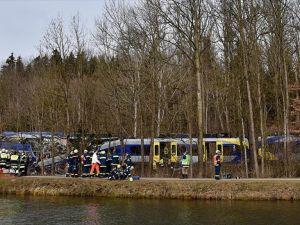Belçika'da tren kazası: 3 ölü, 40 yaralı