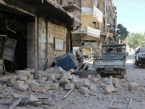 Esed sivil yerleşim yerini bombaladı