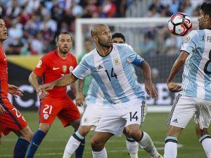Copa America'nın 4. gününde Arjantin Şili'yi yendi