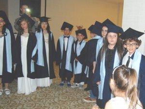 Selçuklu Diltaş İlkokulu 4-B sınıfında mezuniyet