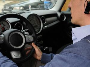Trafikte telefon elde olmasa bile tehlikeli