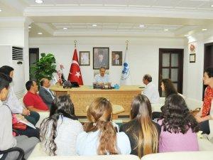 Başkan Akkaya'ya anlamlı ziyaret
