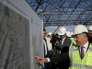 Bakan Arslan 3. Havalimanı inşaatını inceledi