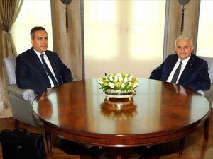 Başbakan Yıldırım, Fidan'ı kabul etti