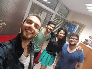 Selçuk Reklamcılık Bölümü öğrencileri Rıxos'ta