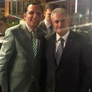 Mustafa İbalı Başbakan Yıldırım ile