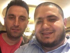 Mehmet Ünal ile Murat Gökçe'den selfie