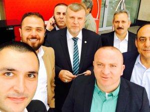 Konyaspor yönetiminden Ankara selfiesi