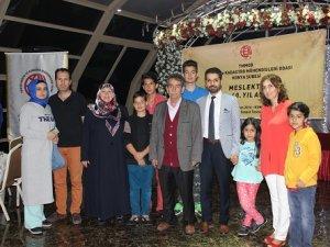 Başkan İşcan ve ailesinin iftar mutluluğu