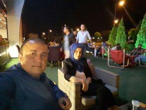 Osman Çakmakçı ve eşi Aşk'ı Nazende'de