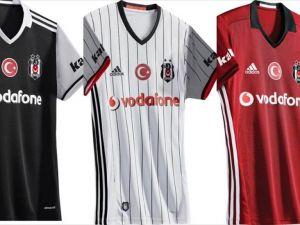 İşte Beşiktaş'ın yeni formaları!