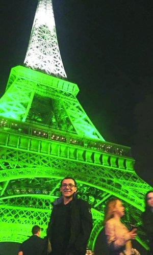 Zeki Cihan Baykan Paris'te