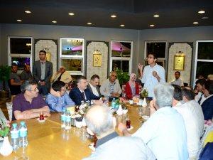 Başkan Akyürek öğrencilerle iftar yaptı