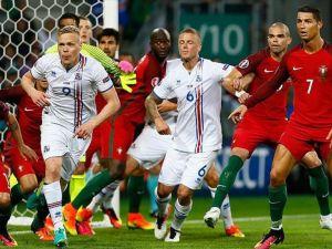 Portekiz ve İzlanda 1 puana razı oldu
