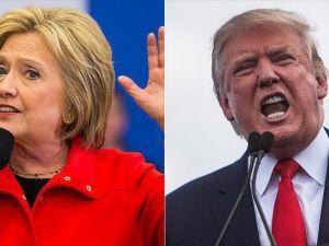 Clinton'ın oy oranları Trump'a karşı 2 haftadır yükselişte