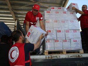 Türk Kızılayı'ndan Suriye'ye 4 yılda 2 milyar TL yardım