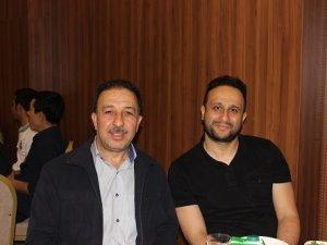Hasan Çınar damadı Abdullah Bey ile birlikte