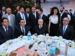 Devlet Bahçeli Konya'da iftara katıldı