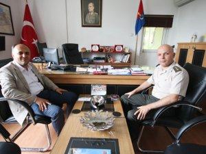 Başkan Özaltun'dan Jandarma'ya ziyaret