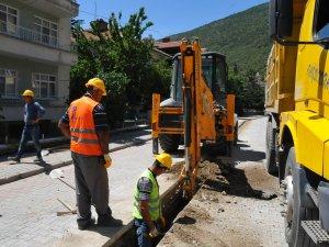 Akşehir'e doğalgaz hattı döşendi