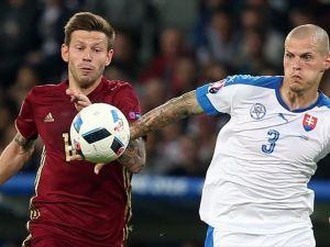 Slovakya Rusya'yı 2-1 yendi