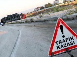 Çorum Alaca'da cenaze yolunda trafik kazası: 6 ölü, 1 yaralı