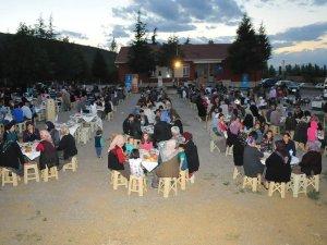 Akşehir'de iftar heyecanı