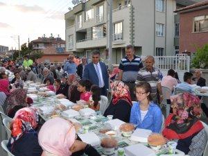 Ereğli'de iftar sofraları kuruluyor