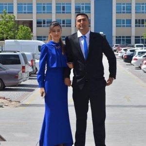 Halenur Büşra ile Memduh'un mutlu günü