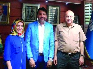 Oktay Mermer'den Konya Ziyareti