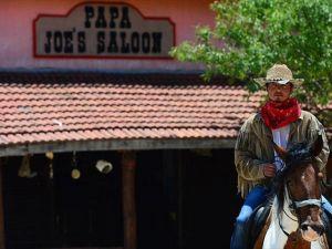 Burası Teksas değil Yörük köyü Aksaz