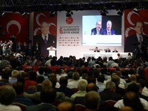 MHP'de Çağrı Heyeti'nin topladığı 6. Olağanüstü Büyük Kongre başladı