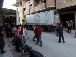 BM'nin Suriye'de insani yardımları devam ediyor