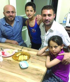 Fevzi Tezcan ile Ertan Gülpınar sahurda