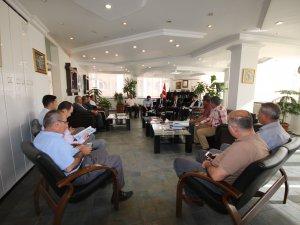 Beyşehir'de projeler masaya yatırıldı