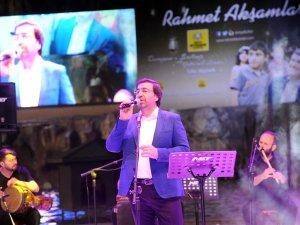 Rahmet akşamlarında Mustafa Demirci Konseri