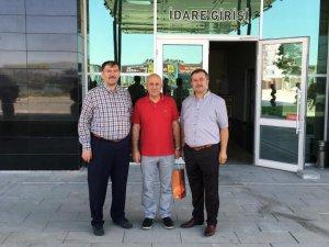 Cevdet İşbitirici ve Mehmet Günbaş Antalya'da