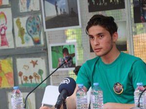 Suriyeli sığınmacı Makedonya'da yeni bir hayat kurdu