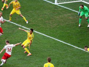 Polonya Ukrayna'yı 1-0 mağlup etti