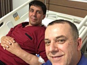 Süleyman Işıkçeviren Ankara'da