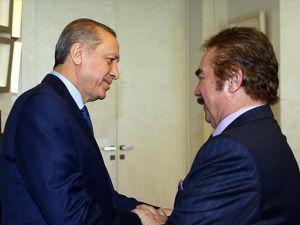 Cumhurbaşkanı Erdoğan, Orhan Gencebay'ı kabul etti