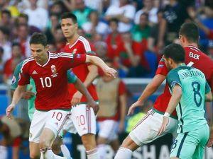 EURO 2016'da Portekiz ile Macaristan 3-3 berabere kaldı