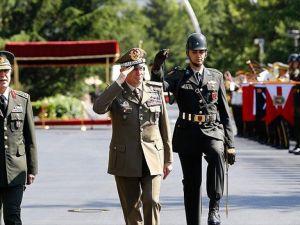 Orgeneral Akar İtalya Genelkurmay Başkanı Graziano ile görüştü