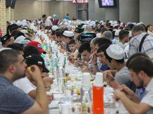 Tataristan'da rekor katılımlı iftar
