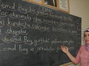 Savaş mağduru kadınlar Türkçe öğreniyor