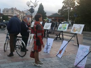 Arnavutluk'ta Nasreddin Hoca İşkodra'da etkinliği yapıldı