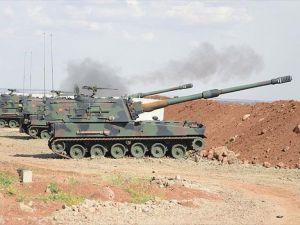 Terör örgütü DAEŞ'e ait 34 hedef vuruldu