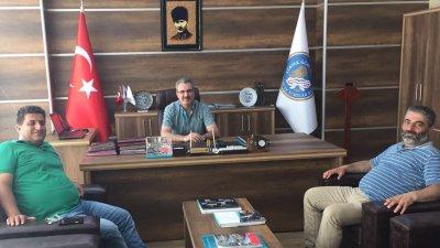 Mustafa Kulu ve Mesut Ceylan'dan Ak'a ziyaret